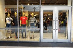 Levi`s Outlet store at Genting Highlands, Malaysia stock images