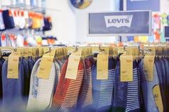 Levi's sockor Arkivfoto
