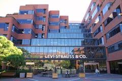Levi Strauss & het hoofdkwartier van Co stock fotografie