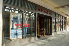 Levi Strauss store at the Ala Moana Center Stock Images