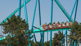 Leviathan in Canada's Wonderland Royalty Free Stock Photo