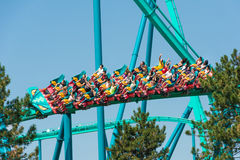 Leviathan in Canada's Wonderland Royalty Free Stock Images