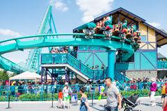 Leviathan in Canada's Wonderland Stock Photos