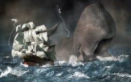 Leviathan vector illustration