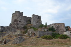 Levice城堡 库存照片
