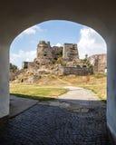Levice en Eslovaquia El castillo Fotografía de archivo