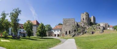 Levice, la fortezza del castello Fotografie Stock Libere da Diritti