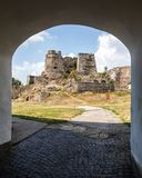 Levice in Slovakia. Ancient castle Stock Photography