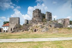 Old castle in Levice in Slovakia. Stock Photography