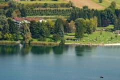 Levico Lake - Levico Terme Trentino Italy Royalty Free Stock Photos