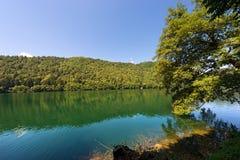 Levico Lake - Trentino Italy Stock Image