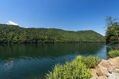 Levico Lake - Trentino Italy Stock Images
