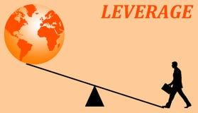 Levier économique Images stock