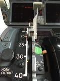 Levier d'aileron Image stock