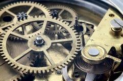 Levier de réglage d'horloge de cru Photographie stock