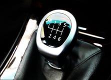 Levier de vitesse de voiture Image libre de droits