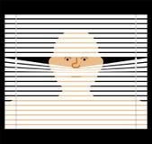 Levier par la jalousie observation par des abat-jour Défectuosité de espionnage de vecteur illustration de vecteur