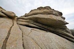 Levigate klippen - Elba Stock Foto's