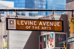 Levine Avenue of the Arts Stock Photos