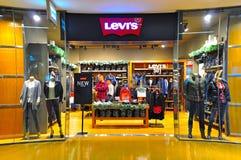 Levis香港出口 免版税库存图片