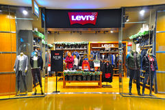 Levis hong kong outlet Royalty Free Stock Images