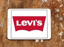 Levis-Logo stockbild
