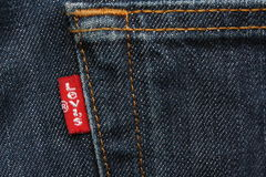 Levis Red Label Stock Photography