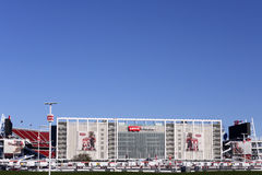 Levis stadion Santa Clara Calif Arkivbild