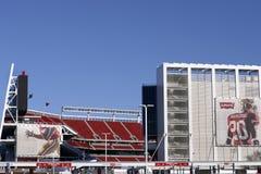 Levis Stadium Santa Clara Calif. SANTA CLARA, CALIFORNIA - DECEMBER 27: Levis Stadium The New Home Of The San Francisco 49ers December 27, 2014 in Santa Clara Royalty Free Stock Photography