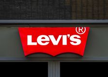 Levis store Royalty Free Stock Photography