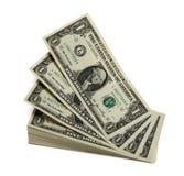 Levitating dollars Royalty Free Stock Image