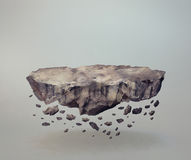 Levitating rocks Stock Image