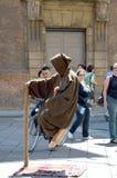 Levitating street performer Stock Photos