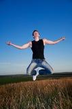 Levitation Stock Photo