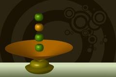 levitation royaltyfri illustrationer