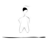 levitation Arkivbilder