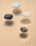 Levitation stones Royalty Free Stock Photos