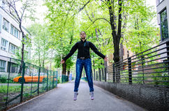 Levitation Royalty Free Stock Photo