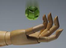 levitazione Fotografia Stock Libera da Diritti