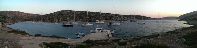 Νησί Levitha στοκ φωτογραφία