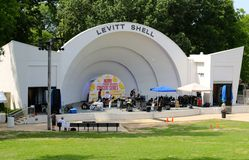 The Levitt Shell at Overton Park Royalty Free Stock Image