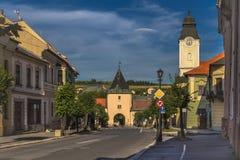 Levoca è una città in Slovacchia orientale Immagine Stock Libera da Diritti