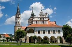 levoca Σλοβακία Στοκ Εικόνα