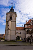 Levoca city center tower Stock Image