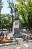 Levoca, Eslovaquia Estatua de Ludovit Stur Imágenes de archivo libres de regalías