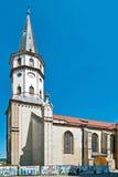 Levoca, Gothic Church of St. Jacob Stock Photo