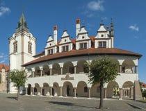 Levoca i Slovakien Arkivfoto