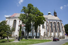 Levoca -  Old Minorit s or Gymnasial church Stock Images