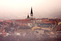 Levoca old town in the city center Stock Photos