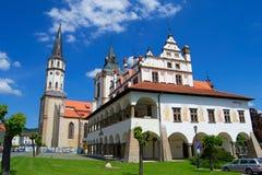 levoca slovakia Royaltyfri Fotografi